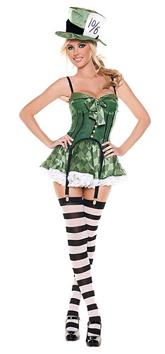 Women's Mad Hatter Costume