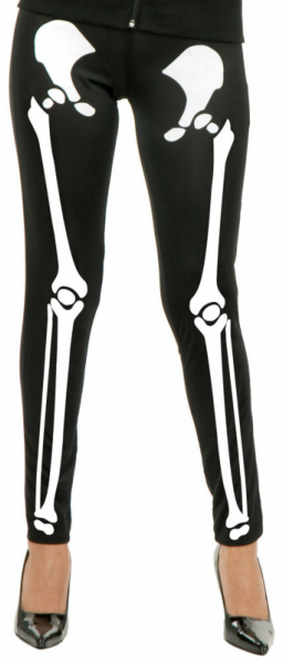 Skeleton Leggings Adult Costume