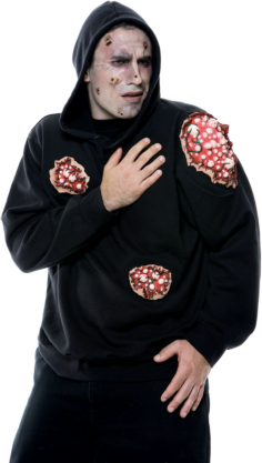 Evilution Pus Hoodie Adult Plus Costume