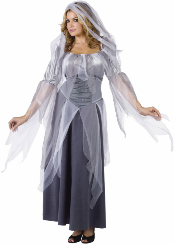Silver Ghost Adult Costume