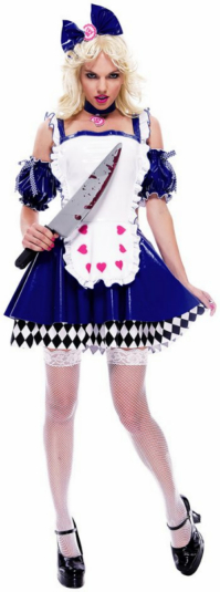 Wicked Wonderland Alice Deluxe Adult Costume