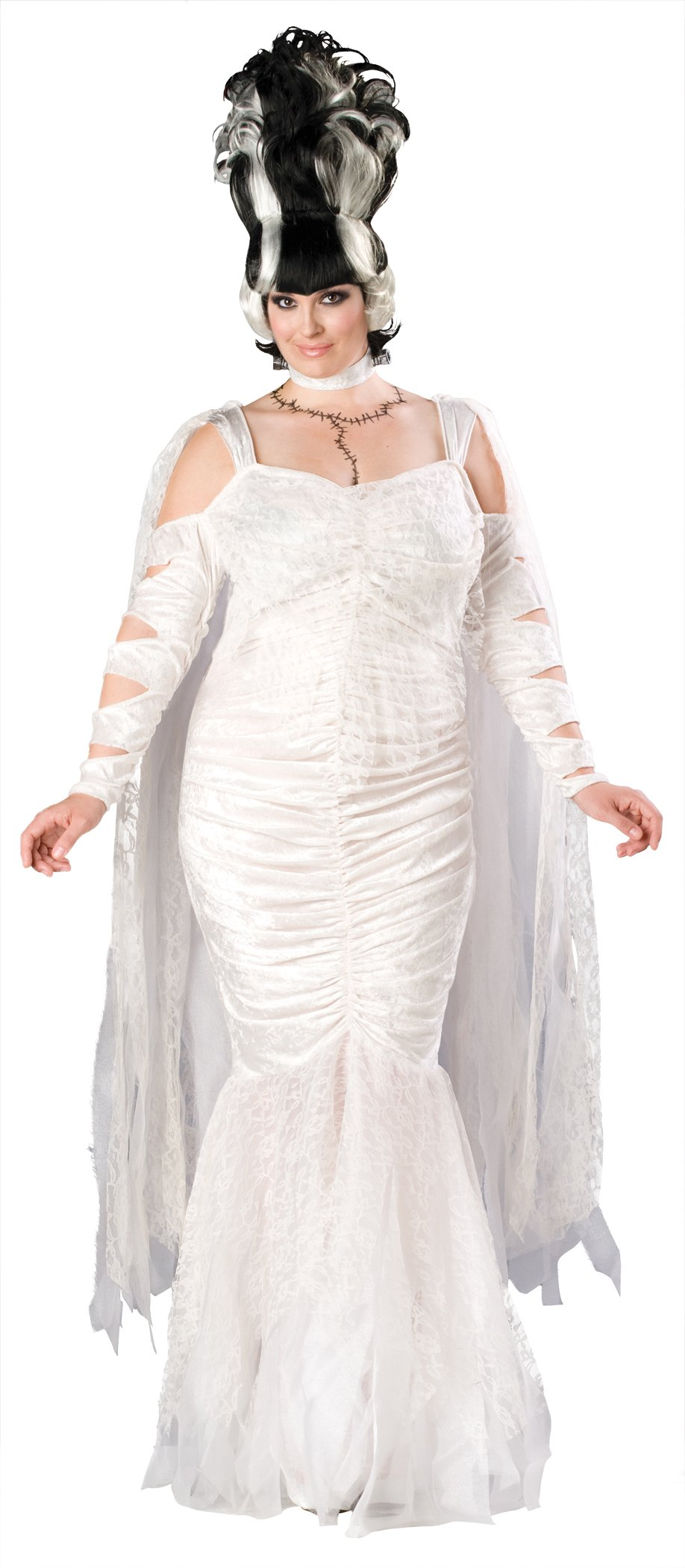 Bride Of Frankenstein Monster Elite Adult Plus Costume