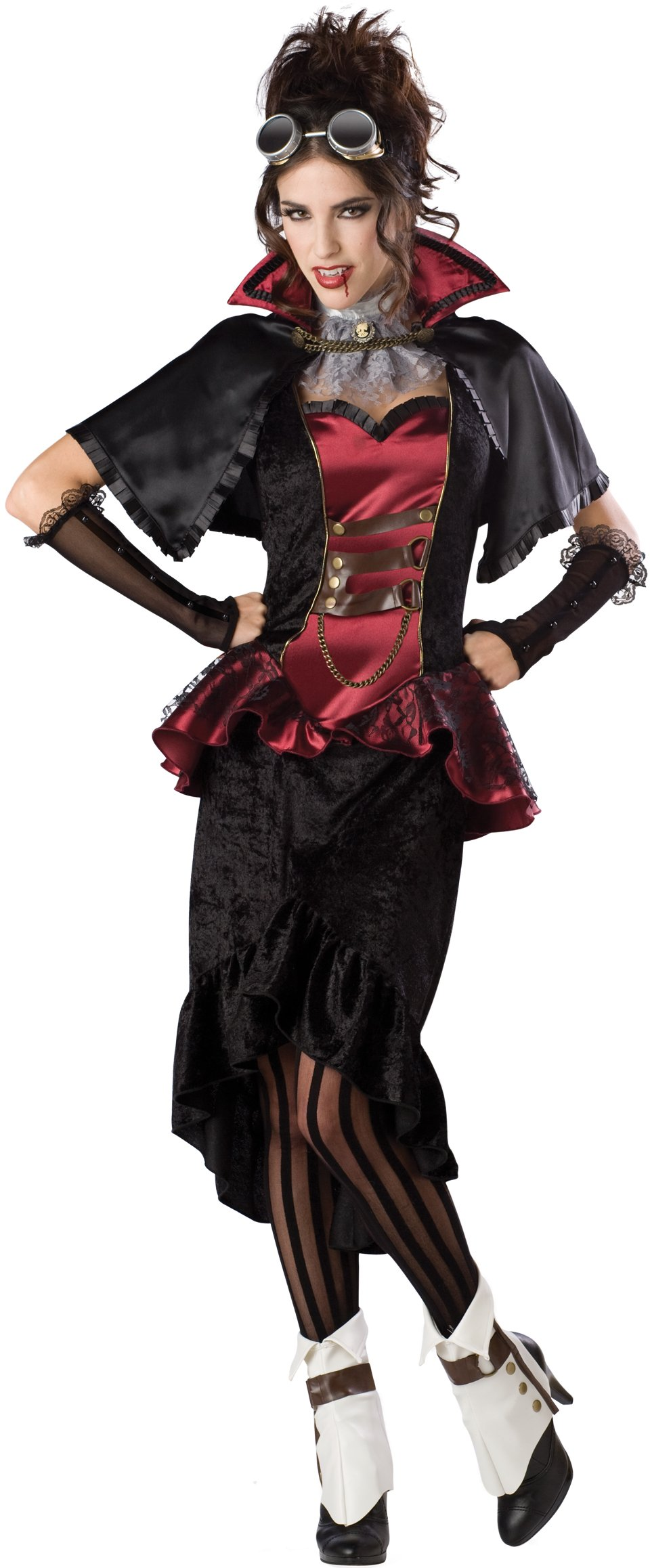 Steampunk Victorian Vampiress Adult Plus Costume
