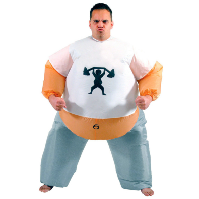 Inflatable Personal Trainer Adult Costume