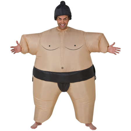 Inflatable Sumo Adult Costume