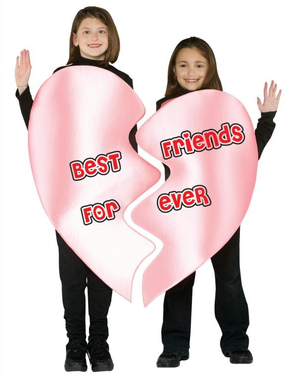 Best Friends Forever Child Costume