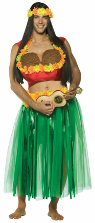 Dashboard Hula Guy Adult Costume