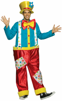 Clown (Male) Adult Circus Costume