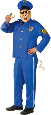 Officer McBacon Adult Costume