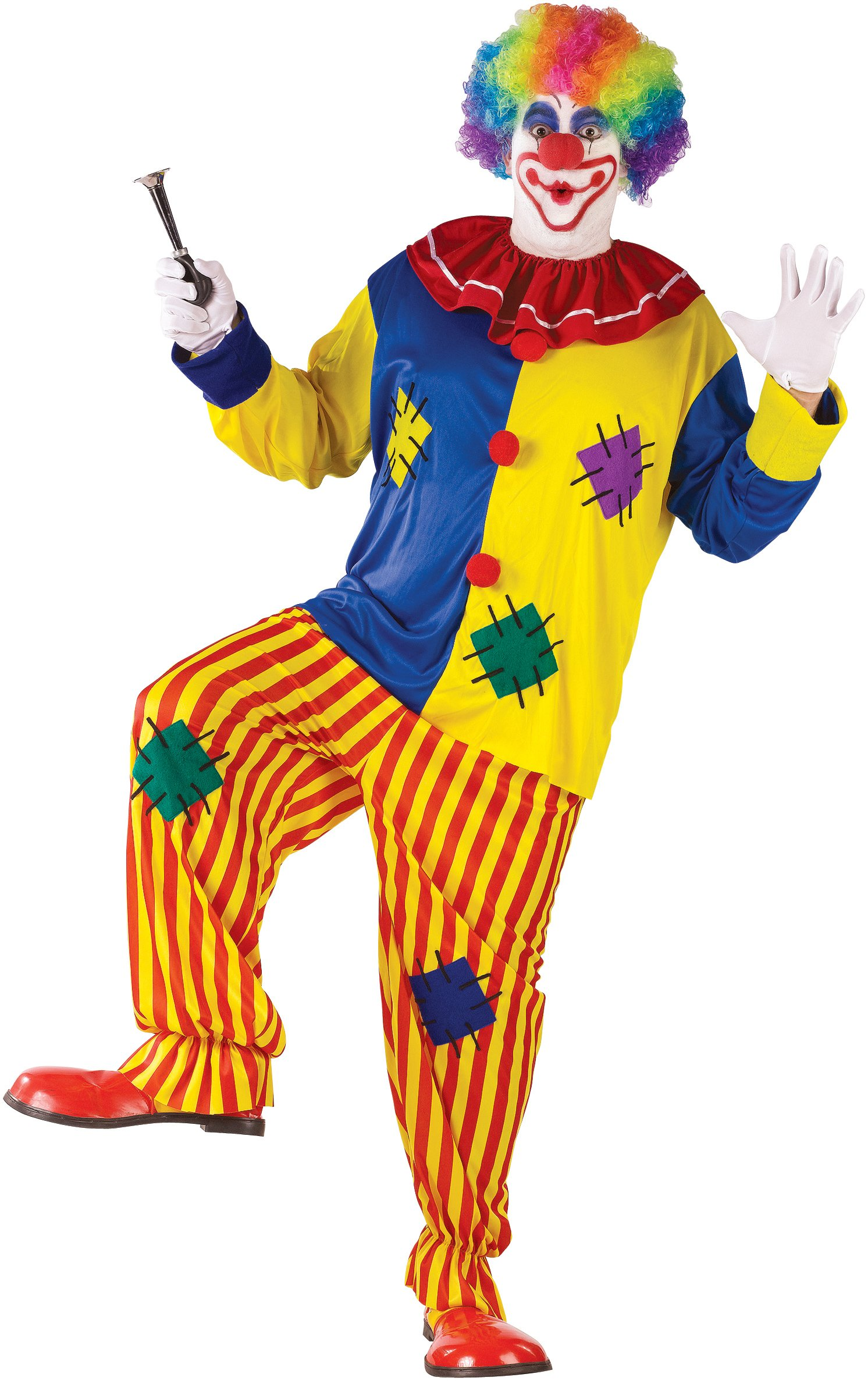 Big Top Clown Adult Plus Circus Costume