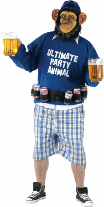 Ultimate Party Animal Adult Plus Costume