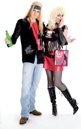 Rock Lover Adult Costume