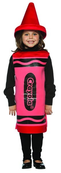 Crayola Red Crayon Costume
