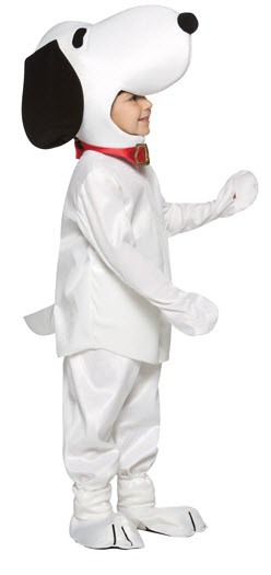 Peanuts Snoopy Child Costume