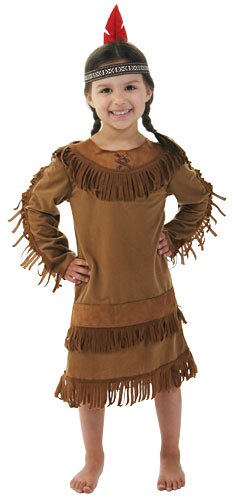 Toddler Girl Indian Costume