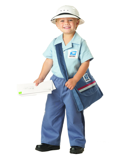 Mr Postman Costume for Toddler