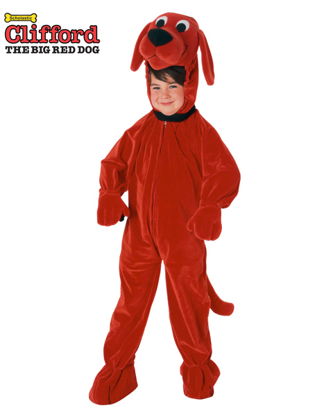 Clifford the Big Red Dog Costume for Toddler