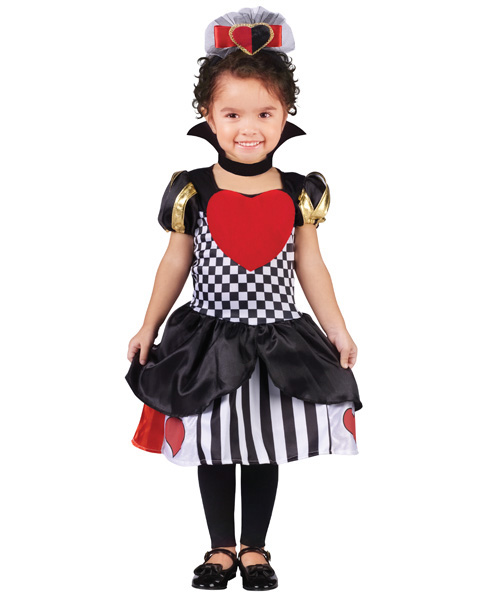 Toddlers Queen of Hearts Costume