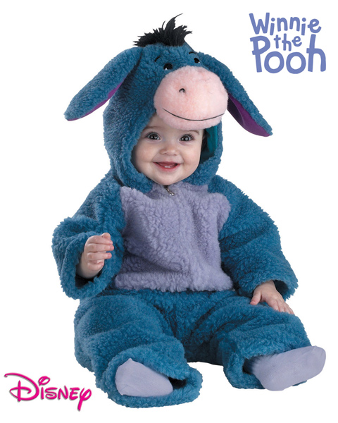 Eyeore Toddler Plush Costume for Infant