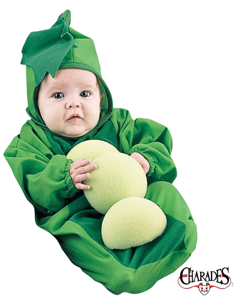 Pea In The Pod Bunting Newborn Costume for Infant