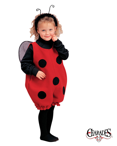 Little Lady Bug Romper Costume for Toddler
