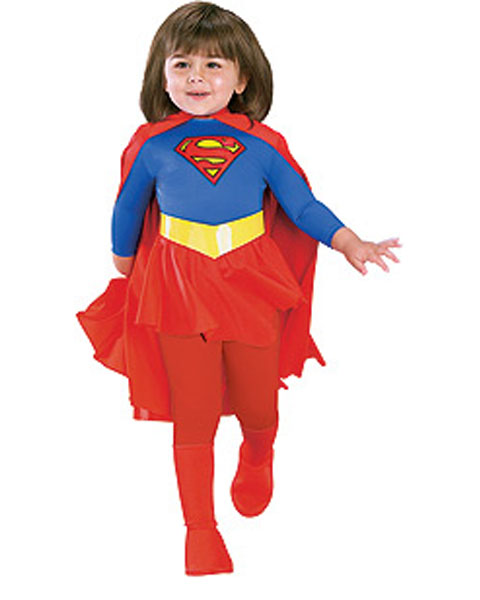 Deluxe Supergirl Costume for Toddler
