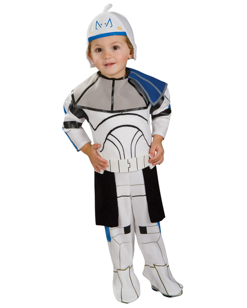 Toddler Clone Trooper Captain Rex Romper Costume