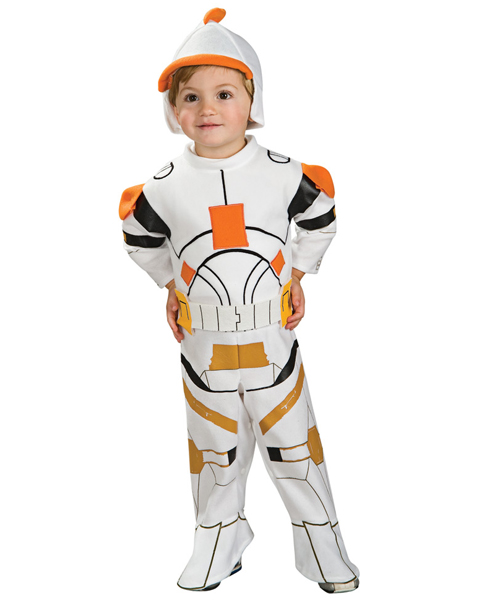 Toddler Clone Trooper Commander Cody Romper Costume