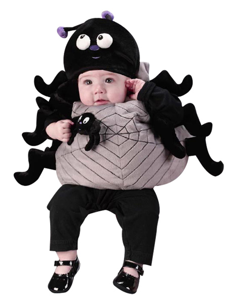 Newborn Infant Spider Costume