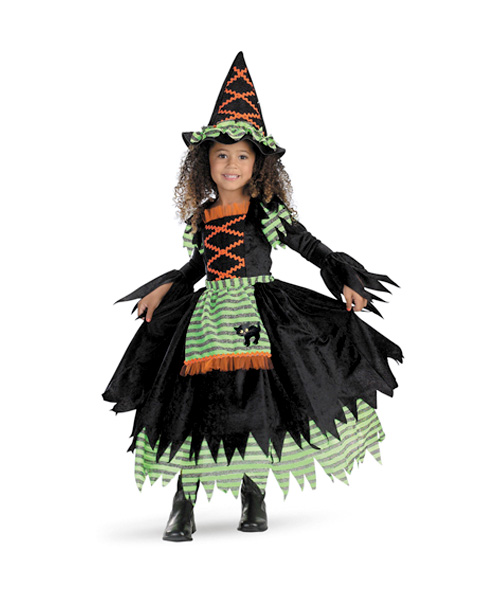 Story Book Witch Toddler Deluxe Costume