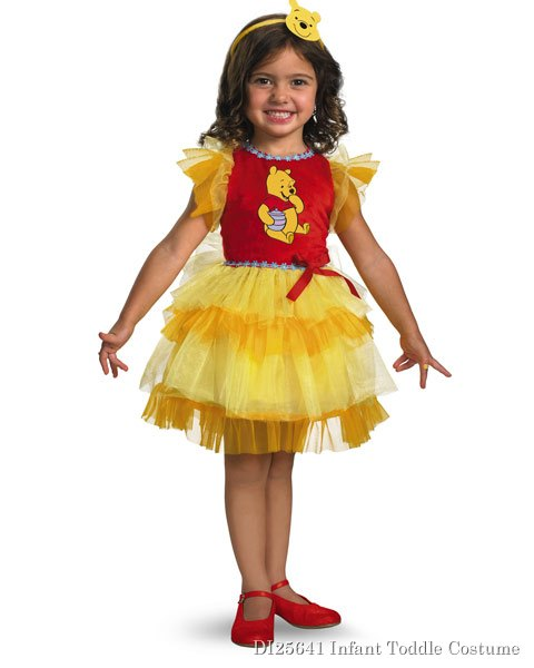 Frilly Disneys Winnie The Pooh Toddler Costume