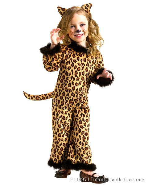 Pretty Leopard Toddker Costume