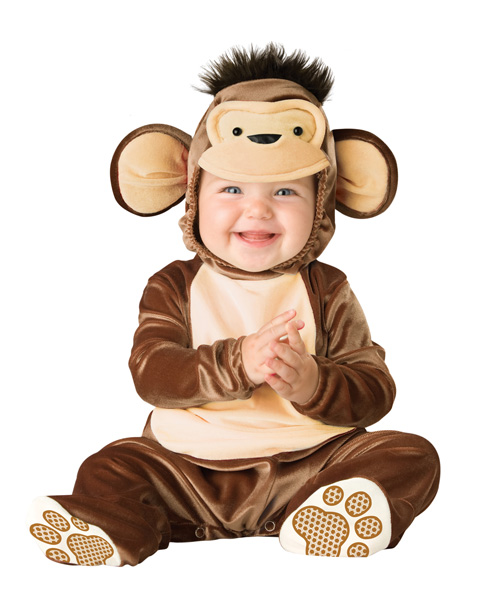 Toddlers Mischievous Monkey Costume