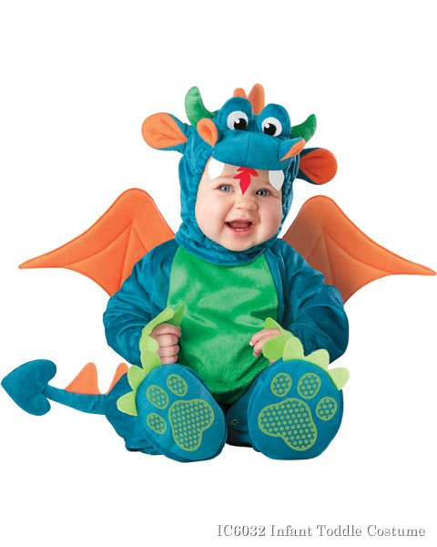 Dinky Dragon Costume Infant Toddler