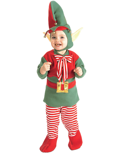 Christmas Elf Costume For Infant/toddler