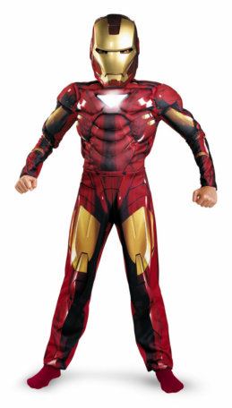 Iron Man 2 (2010) Movie - Mark VI Classic Muscle Child Costume