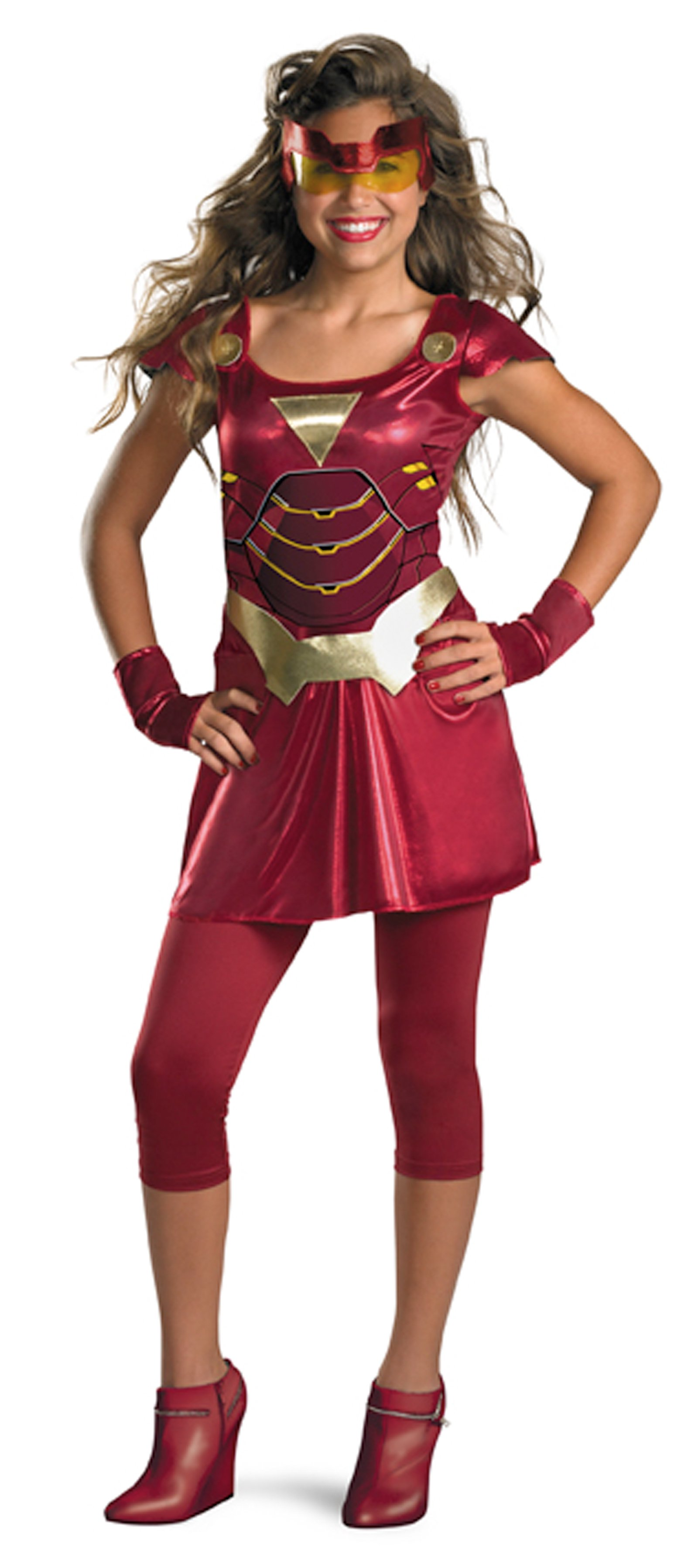 Iron Man 2 (2010) Movie - Iron Girl Child Costume