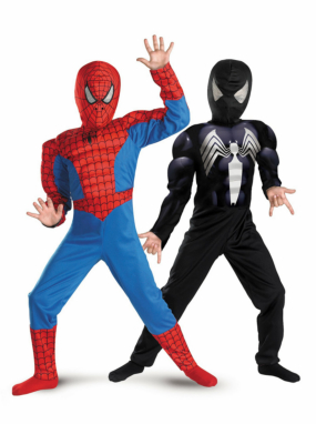 The Amazing Spider-Man Reversible Red to Black Muscle Chest Chil