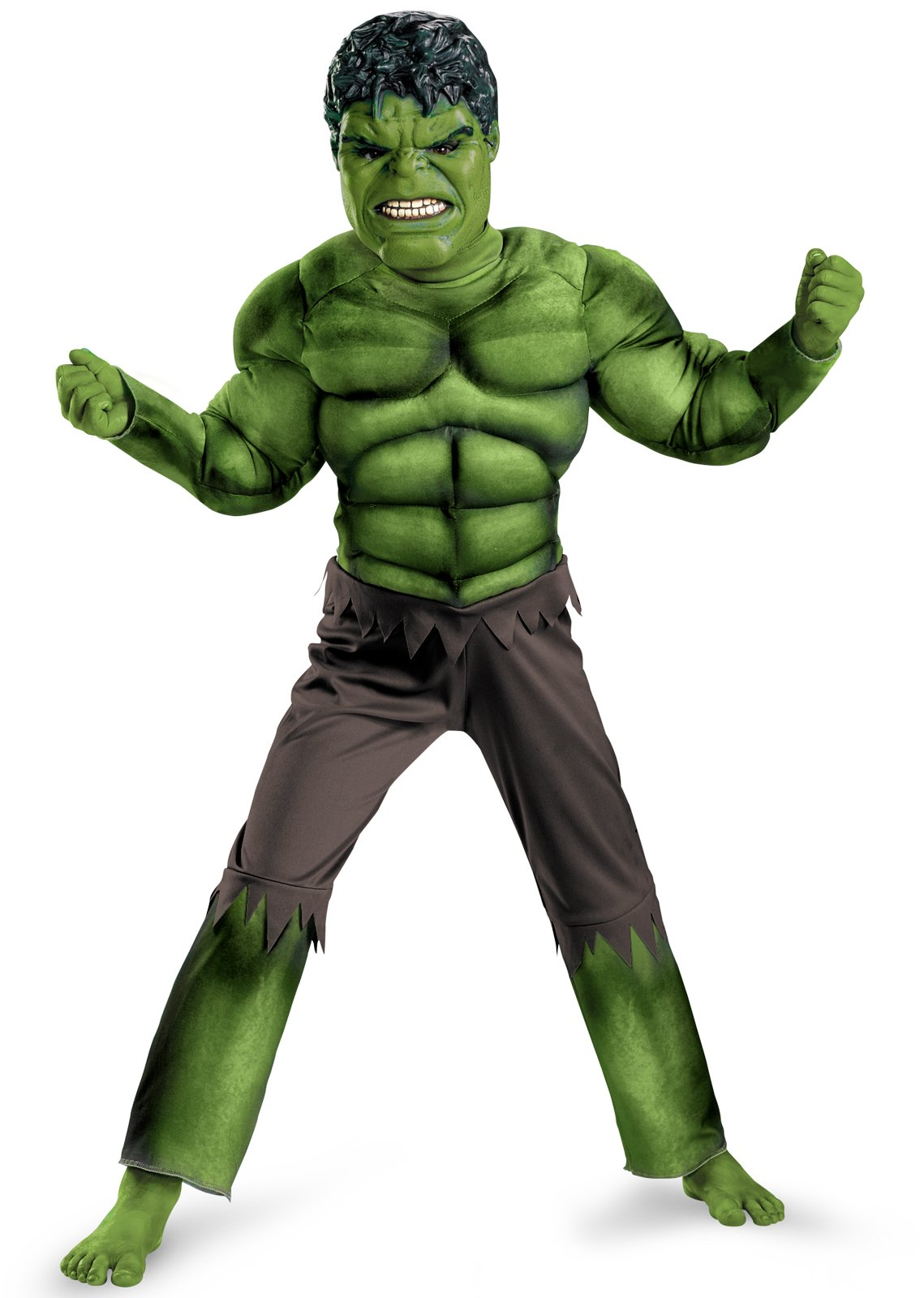 The Avengers Hulk Classic Muscle Chest Child Costume