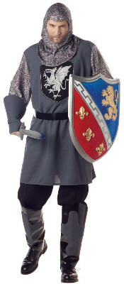 Valiant Knight Plus Size Adult Costume