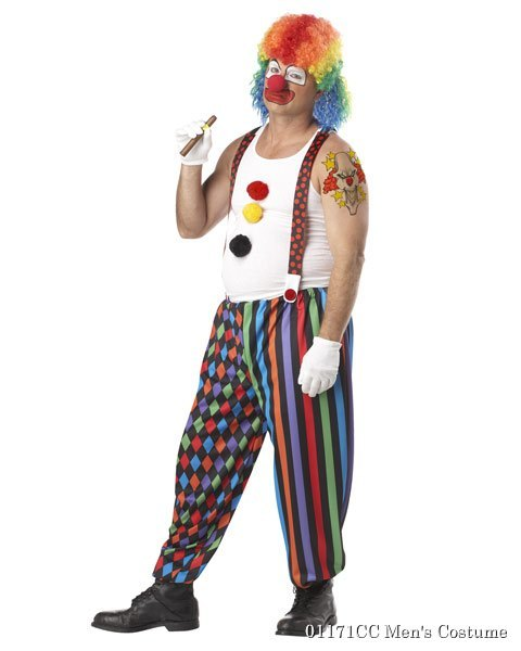 Mens Cranky the Clown Costume