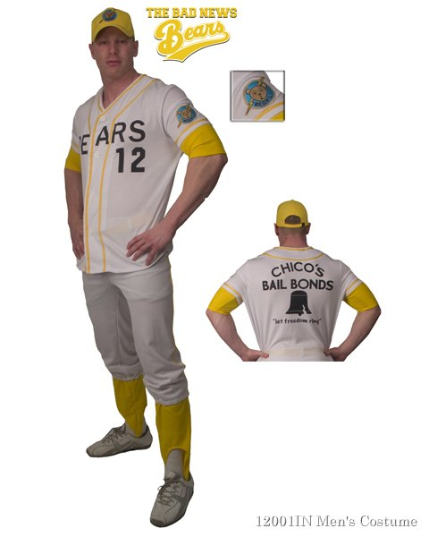 Adult Bad News Bears Deluxe Costume