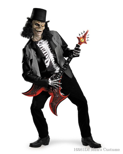 Cryptic Rocker Deluxe Adult Costume