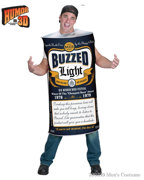 Beer Can Costume for Adult