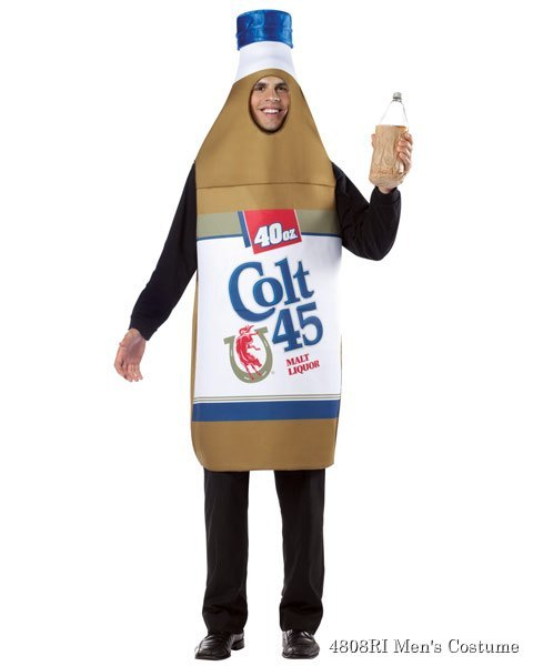 Colt 45 40oz. Beer Bottle Adult Costume