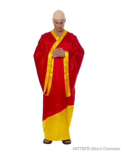 Buddhist Mens Costume
