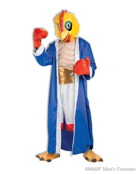Champion Cock Fighter Costume For Adults