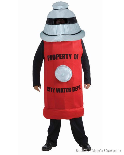 Fire Hydrant Mens Costume