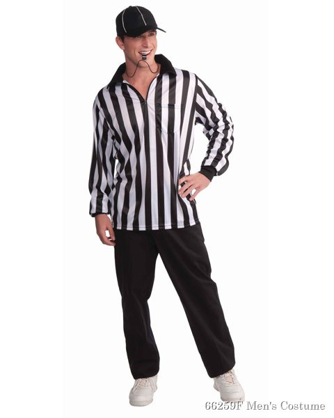 Referee Shirt And Hat