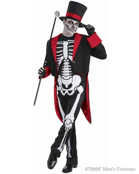 Mr. Bone Jangles Mens Costume